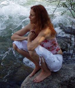 Donna M Thomas Meditating